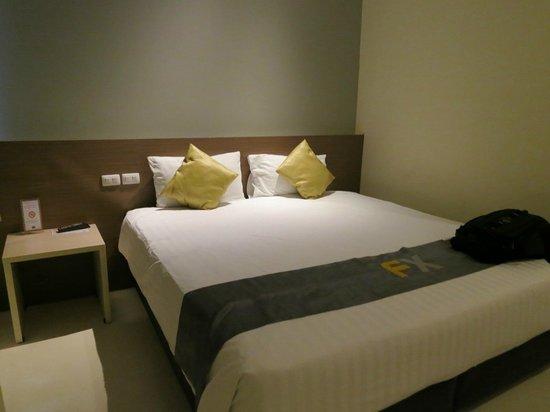 D Varee Xpress Makkasan, Bangkok : Bed