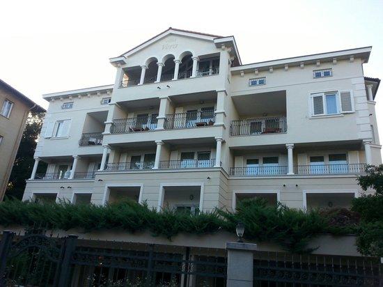 Hotel Villa Vera : Façade arrière