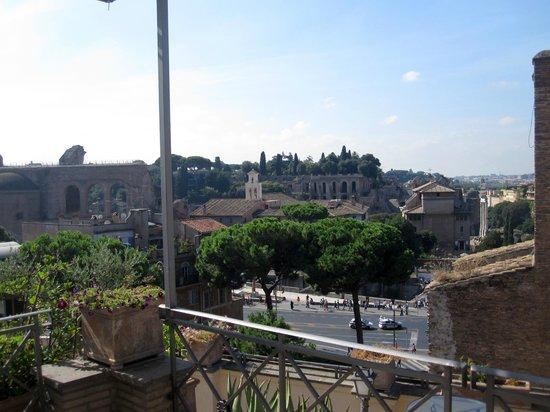 Made in Rome Bed&Breakfast: Vue de la terrasse