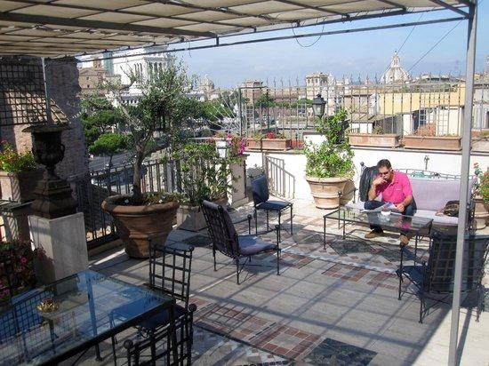 Made in Rome Bed&Breakfast: Terrasse