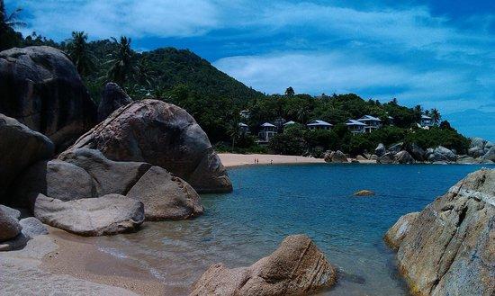 Hi Coral Cove Bungalow: Пляж соседнего отеля