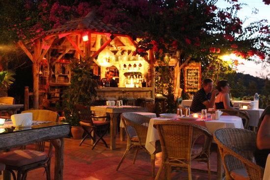 Hotel Fidanka: Bar area