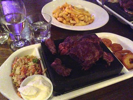 Degree Gastrobar: The Sizzling Steak Platter (Rib Eye)