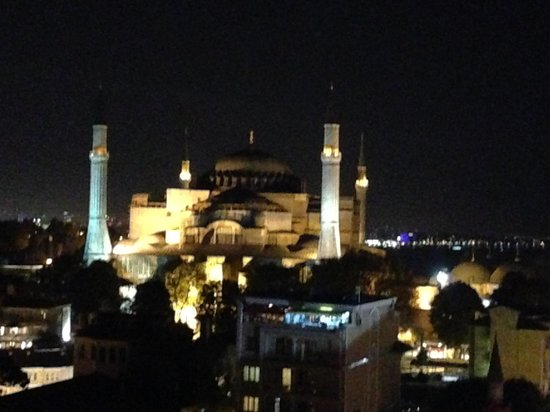 Adamar Hotel : View from Panoramic restaurant