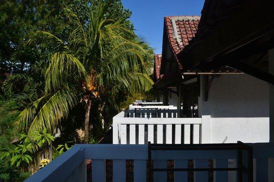 Tir Na Nóg Gili Trawangan Accommodation: Вид с балкона