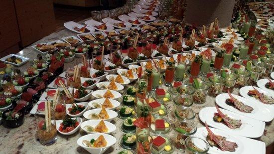 Naturhotel Waldklause: Vorspeisenbuffet