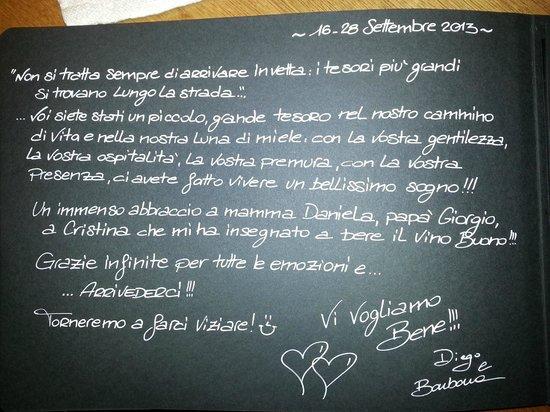 Hotel Catinaccio : Il nostro ringraziamento alla Fam. Lorenz.