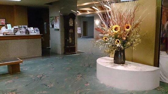 Tendo Hotel: フロント