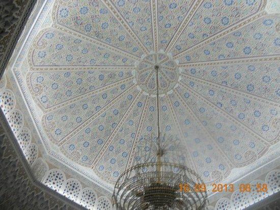 Washington Hotel : Vers la réception, ce plafond magnifique