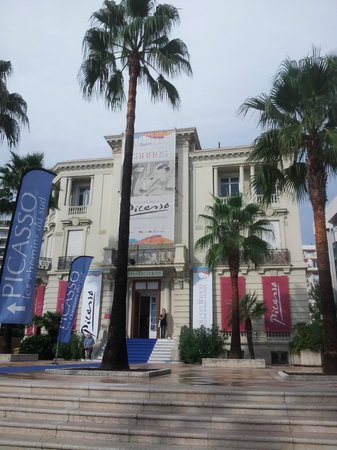 Centre d'art La Malmaison at Cannes : Finally.... Picasso's Nudes