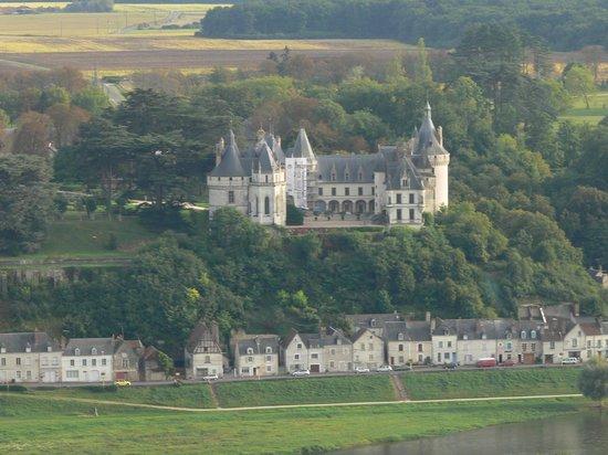 Aérocom Montgolfière : Le château de Chaumont sur Loire