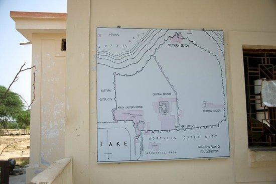 Sindh Province, Pakistan: site plan
