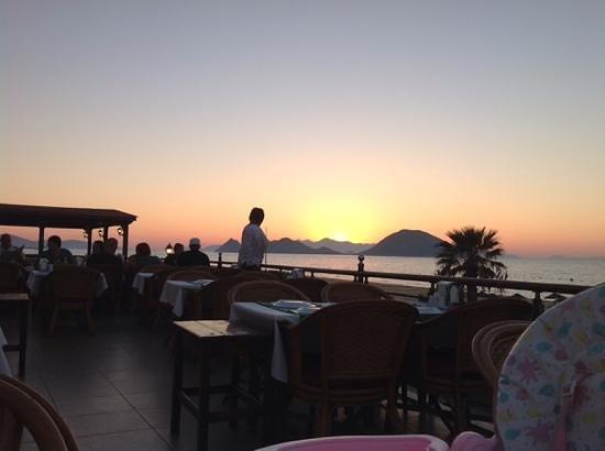 Uncles Restaurant: balkon uitzicht