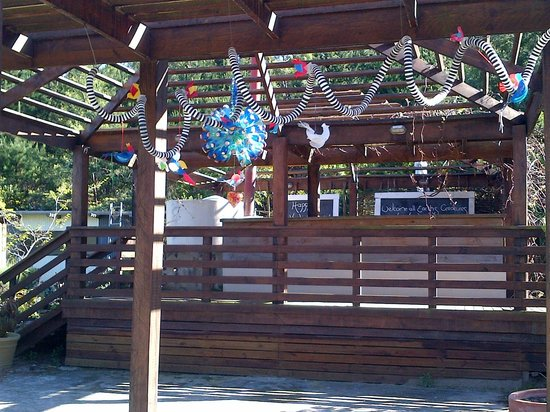 Timberlake Organic Village: Recycled Decorations