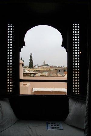 Riad Tawargit : Charme de la vue