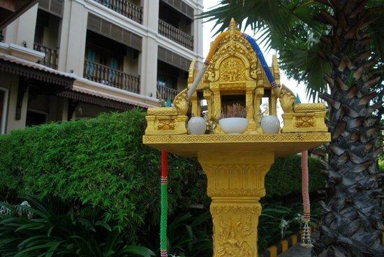 Angkor Sayana Hotel & Spa: Gate