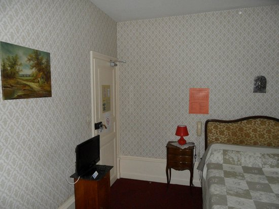 Hotel Les Fontaines: chambre