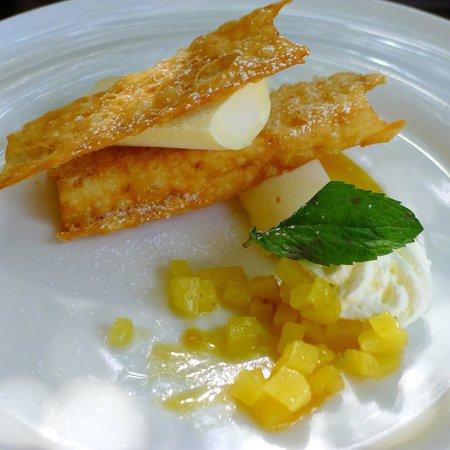 Restaurant Comte Roger: glace muscat