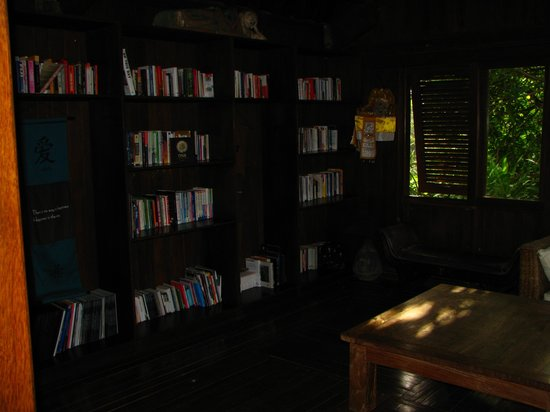 Vision Villa Resort: The library won't disappoint.