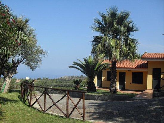 Borgo San Cosmo: Vista mare anche se c'era molta foschia