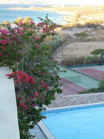 Paros Agnanti Resort : Vue de notre balcon