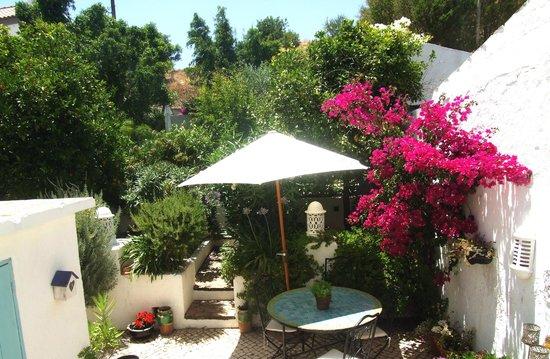 casa rosada: garden