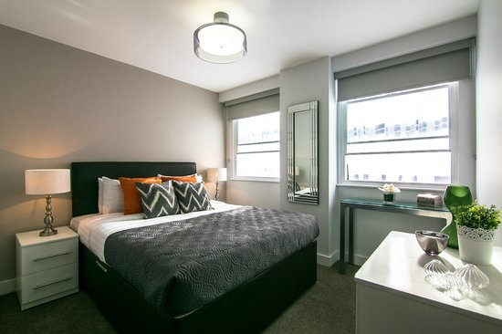 SACO Manchester - Piccadilly: Two bedroom apartment bedroom