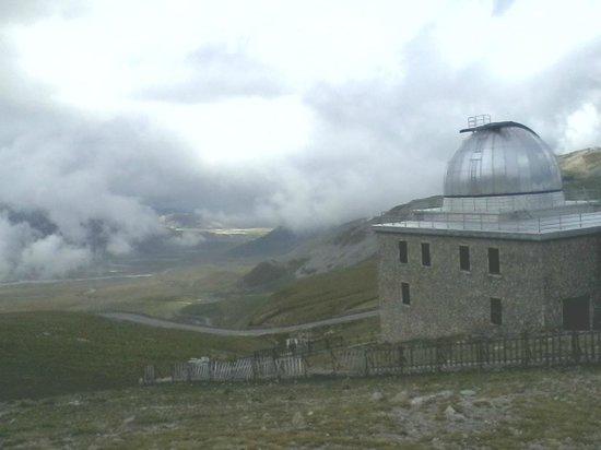 L'altopiano visto dall'Osservatorio di Campo Imperatore