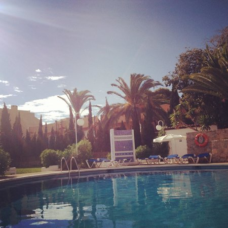 Hotel Club La Noria: Pool area