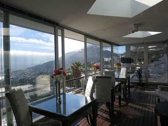 Atlanticview Cape Town Boutique Hotel: One of the views from inside the hotel
