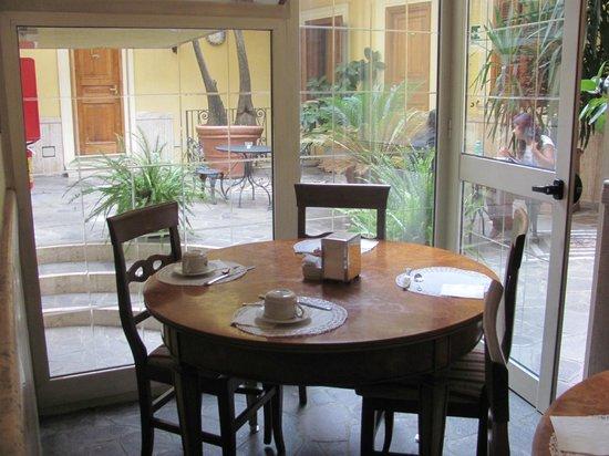 Villa San Lorenzo Maria Hotel: Breakfast area