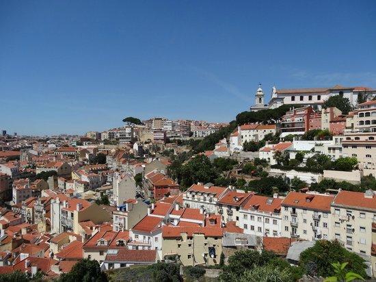 Olissippo Castelo: Zimmeraussicht