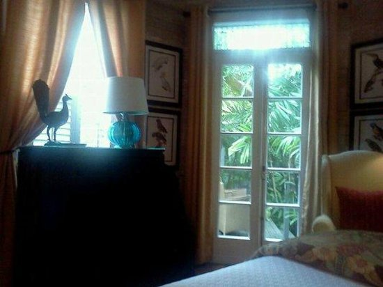 The Mermaid & The Alligator: View from bed