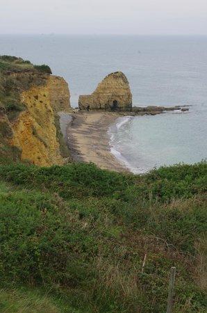 Plages du Débarquement de la Bataille de Normandie : Pic du Roc