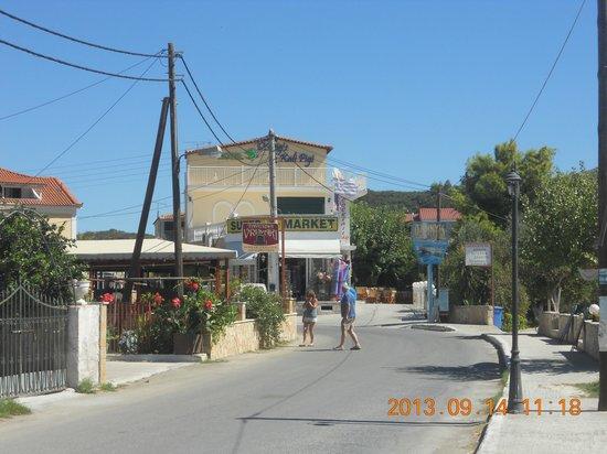 Kali Pigi Hotel: Widok od strony dojazdu do hotelu