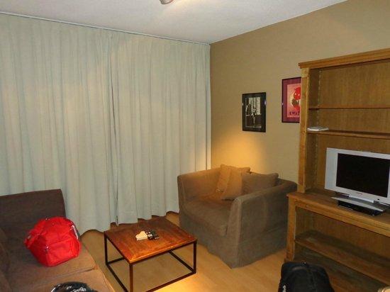 Aparthotel Brussels Midi: Sala