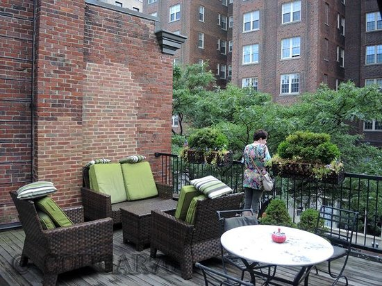 Beacon Hill Hotel and Bistro: La terrasse