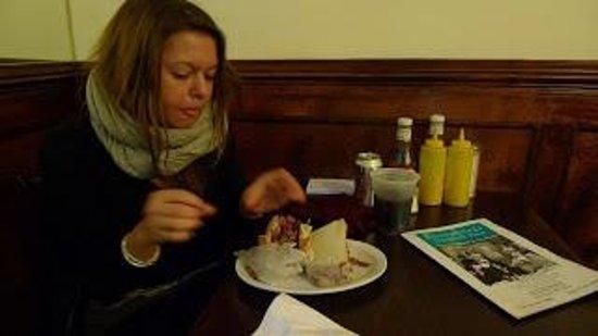 Eisenberg's Sandwich Shop : Licking my chops