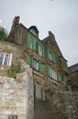 Les Terrasses Poulard: Notre chambre tout en haut