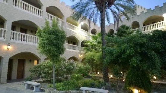 Hotel Plaza Del Castillo: La disposizione delle stanze