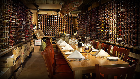 Angelo's: Private Wine Cellar