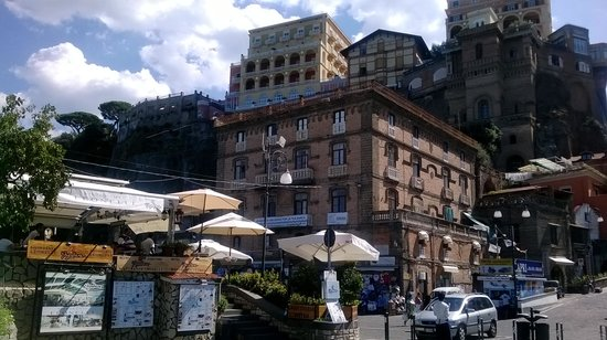 Hotel Eden : View at Marina in Sorrento