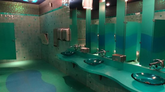 Interior Themed Bathrooms bathrooms are themed picture of downtown aquarium houston themed