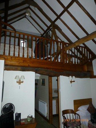 The Abbey Hotel: Inside St. Botolph's cottage loft room