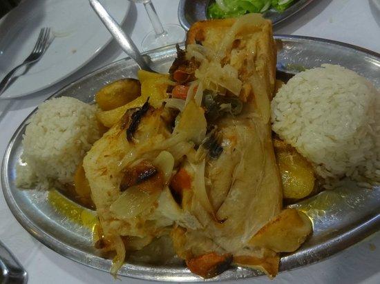 Restaurante Pedro dos Frangos: Salted Cod