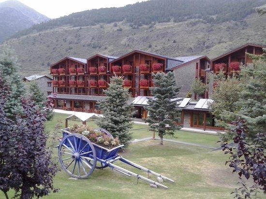 Nordic Hotel: Vista jardin