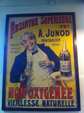 Absintherie du Pere Francois: absinthe junod