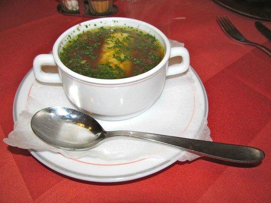Klugsche Mühle: Soup