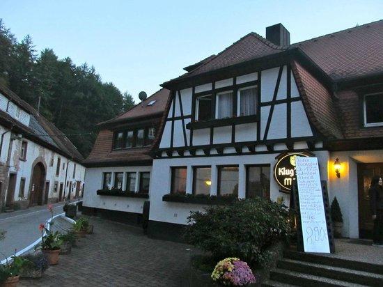 Klugsche Mühle: Outside