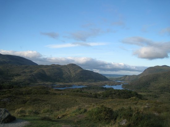 Ladies' View : Ladies View of the Lakes of Killarney on Ring of Kerry